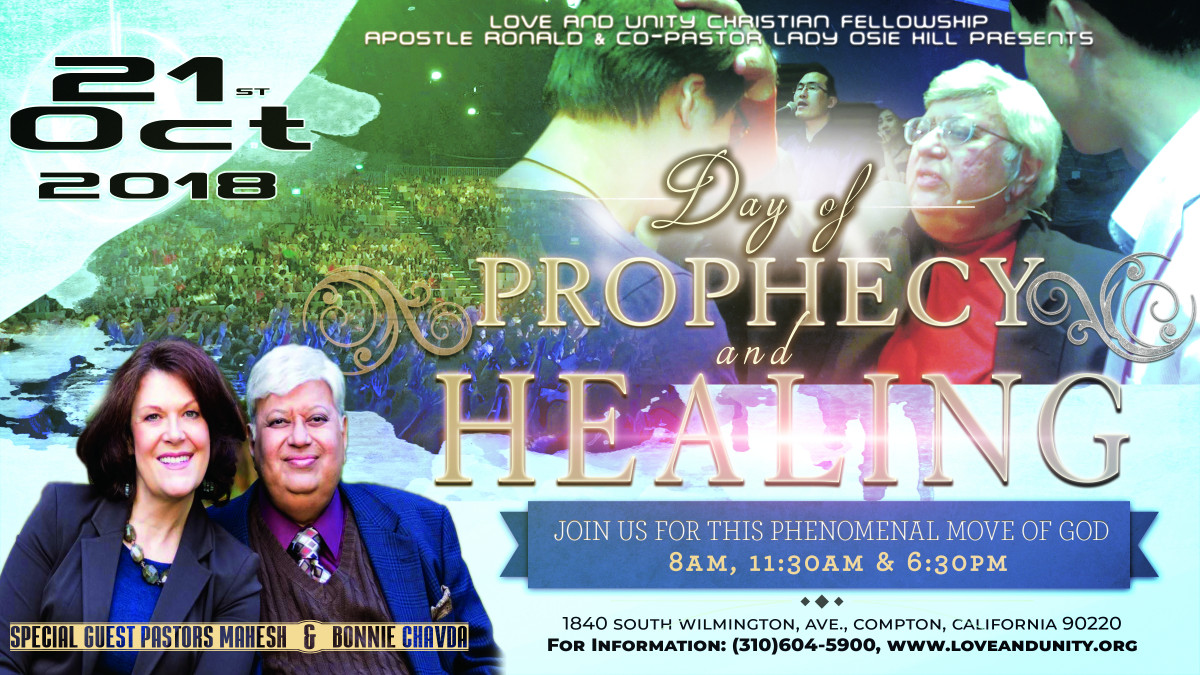 Day of Prophecy and Healing